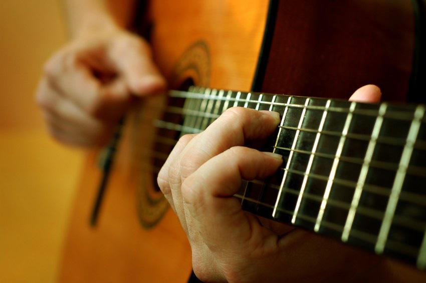 suonatore chitarra